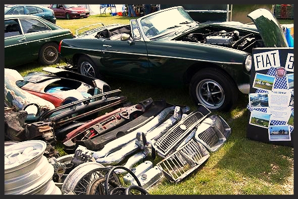 5 Ways to Avoid Scammers when Buying Retro Car Parts