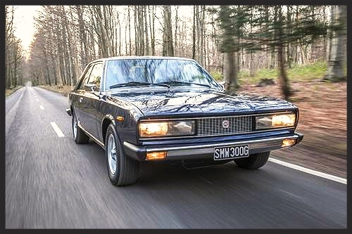 Handcrafted Fiat 130 Coupe
