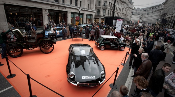 The Regent Street Motor Show Preview
