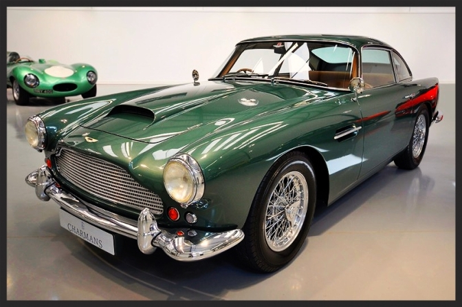 Awesome Aston DB4