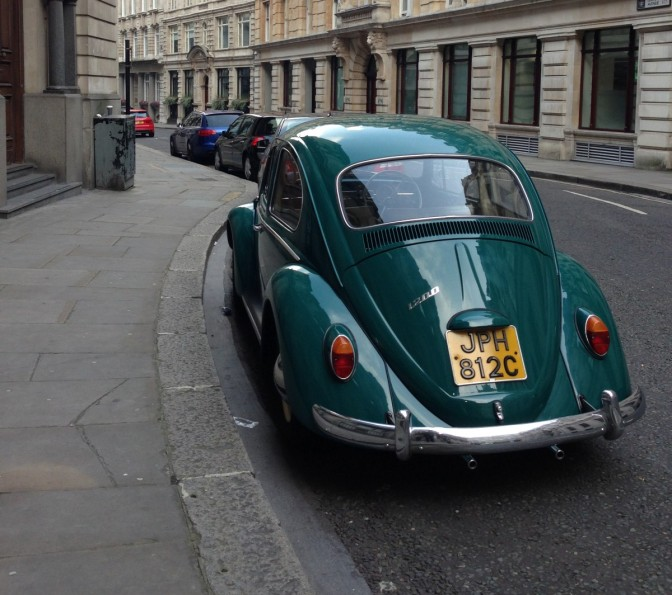 STOLEN: 1965 Java Green Beetle