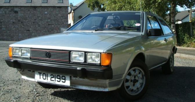 STOLEN: Silver '82 Scirocco GTI