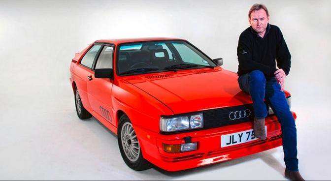 Gene Hunt's Audi Quattro