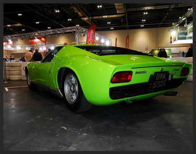 London Classic Car Show 2015 in Pictures
