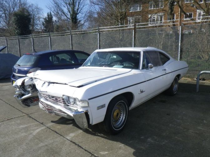 Anyone Missing A '69 Impala?