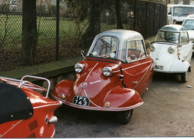 FOUND: Stolen Messerschmitt
