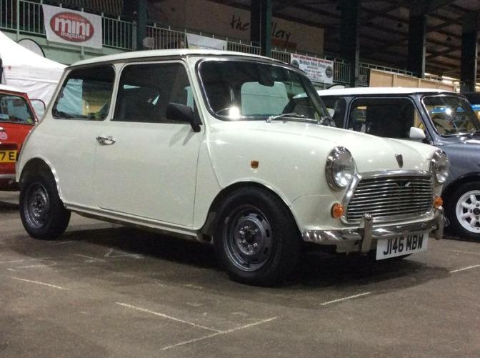 Stolen: '91 Rover Mini – Stafford
