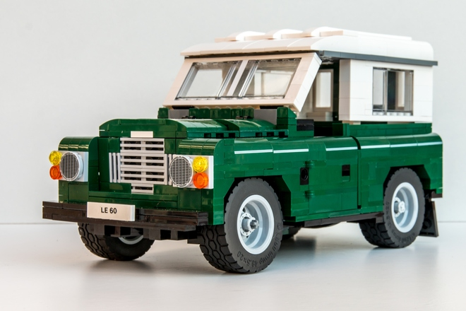 Fancy a Lego Land Rover?