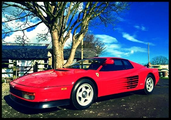 Fabulous Ferrari Testarossa