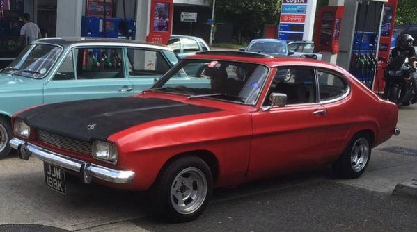 Stolen: '71 MK1 Capri