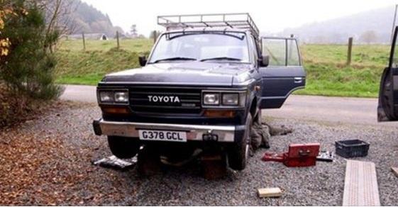 Stolen: '89 Land Cruiser