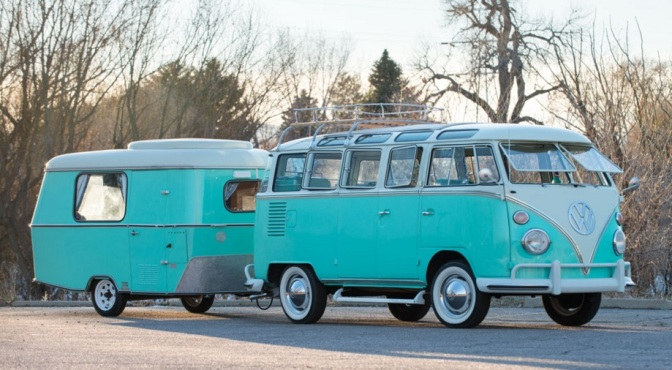 Superb '63 Split-Window Camper