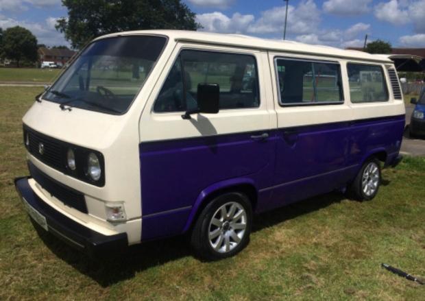 Stolen: '86 VW T25