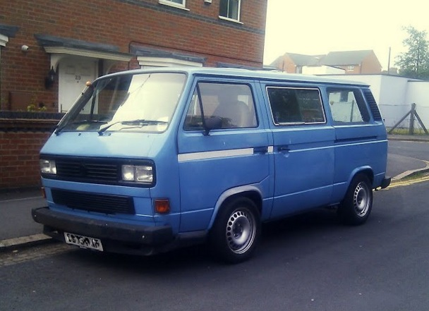 Stolen: Another VW T25 Transporter