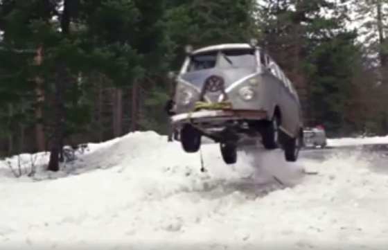 Ultimate off-road vehicle – A VW T2?
