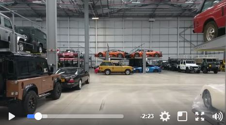 Ever wanted to see inside JLR's Secret Storeroom?