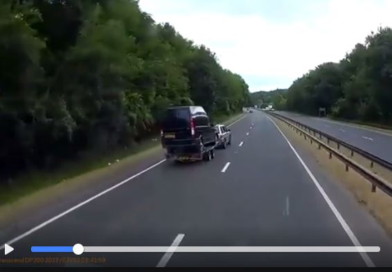 How not to tow a trailer